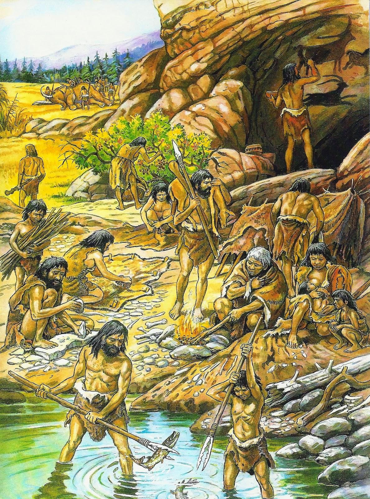 Gartenzelt 3 4 M : De sociales º eso el paleolÍtico la caza y