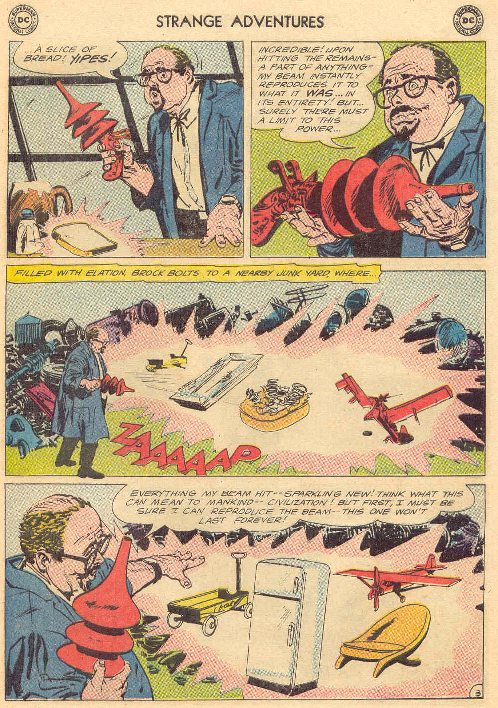 Strange Adventures (1950) issue 176 - Page 17