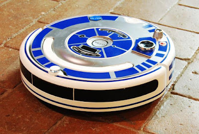 R2-D2 Roomba Decal