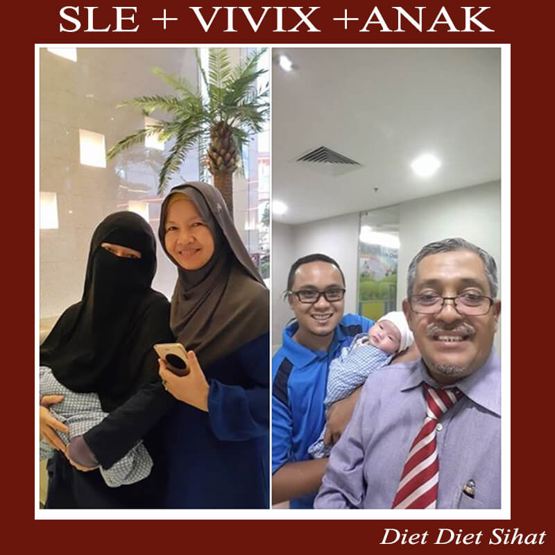 pesakit sle dapat lahirkan anak dengan amalkan vivix beberapa tahun