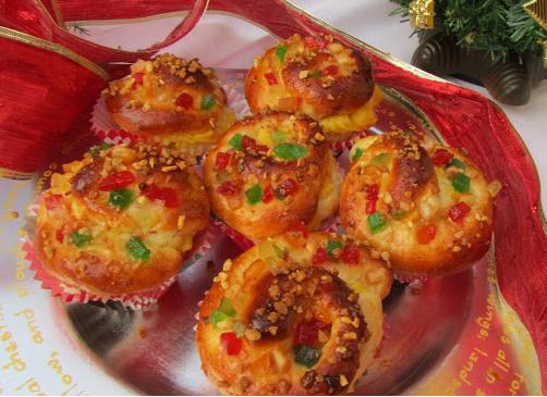 Muffins de los Reyes Magos Ana Sevilla