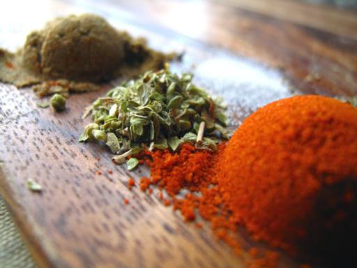Cajun Spice Makes The Food Spicy