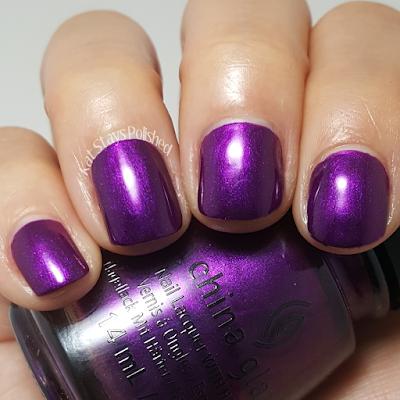 China Glaze Rebel Collection 2016 - Purple Fiction | Kat Stays Polished