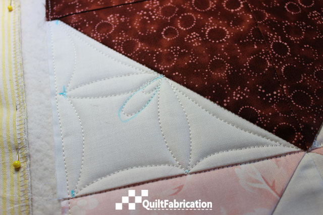 Making Connections Free Motion quilting pattern