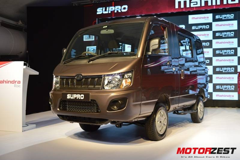 7c429b1e014253 Mahindra Launches All New Supro Van   Supro MaxiTruck In Commercial ...