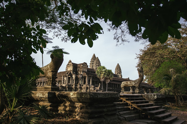 Hidden of Angkor Wat temple
