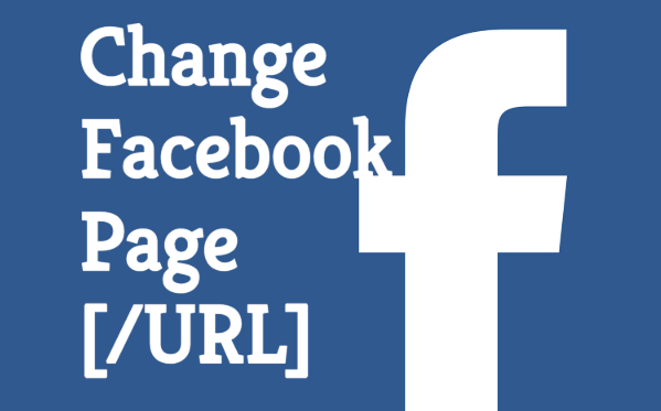 How To Change Url For Facebook Page
