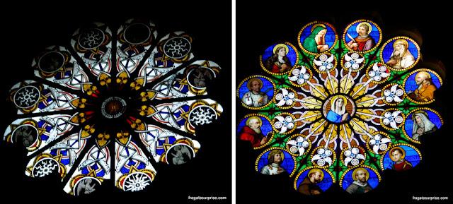 Vitrais da Igreja de Santa Maria Sopra Minerva