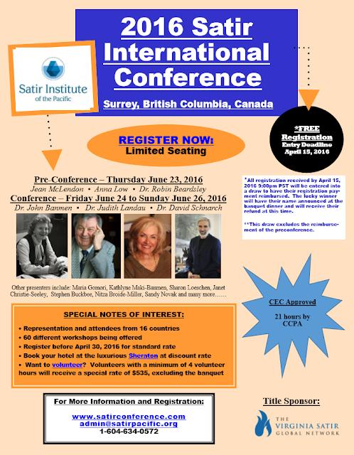 2016 Satir Conference