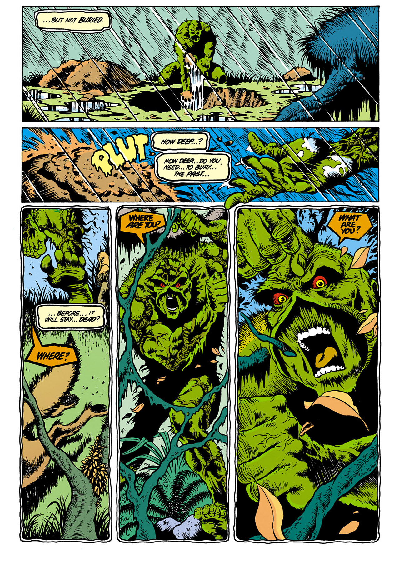 Swamp Thing (1982) Issue #28 #36 - English 7