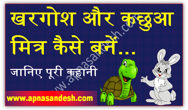 खरगोश और कछुआ मित्र कैसे बनें - How to Become a Rabbit and Turtle Friend