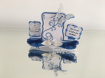 Tattered Lace Design Team call- Sharing My Project- Round1- Beginners Card- My Way