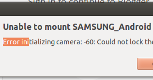 MELIORATE: [SOLVED] Unable to mount SAMSUNG_Android : Error