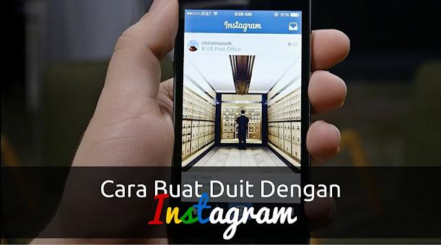 cara buat duit dengan instagram