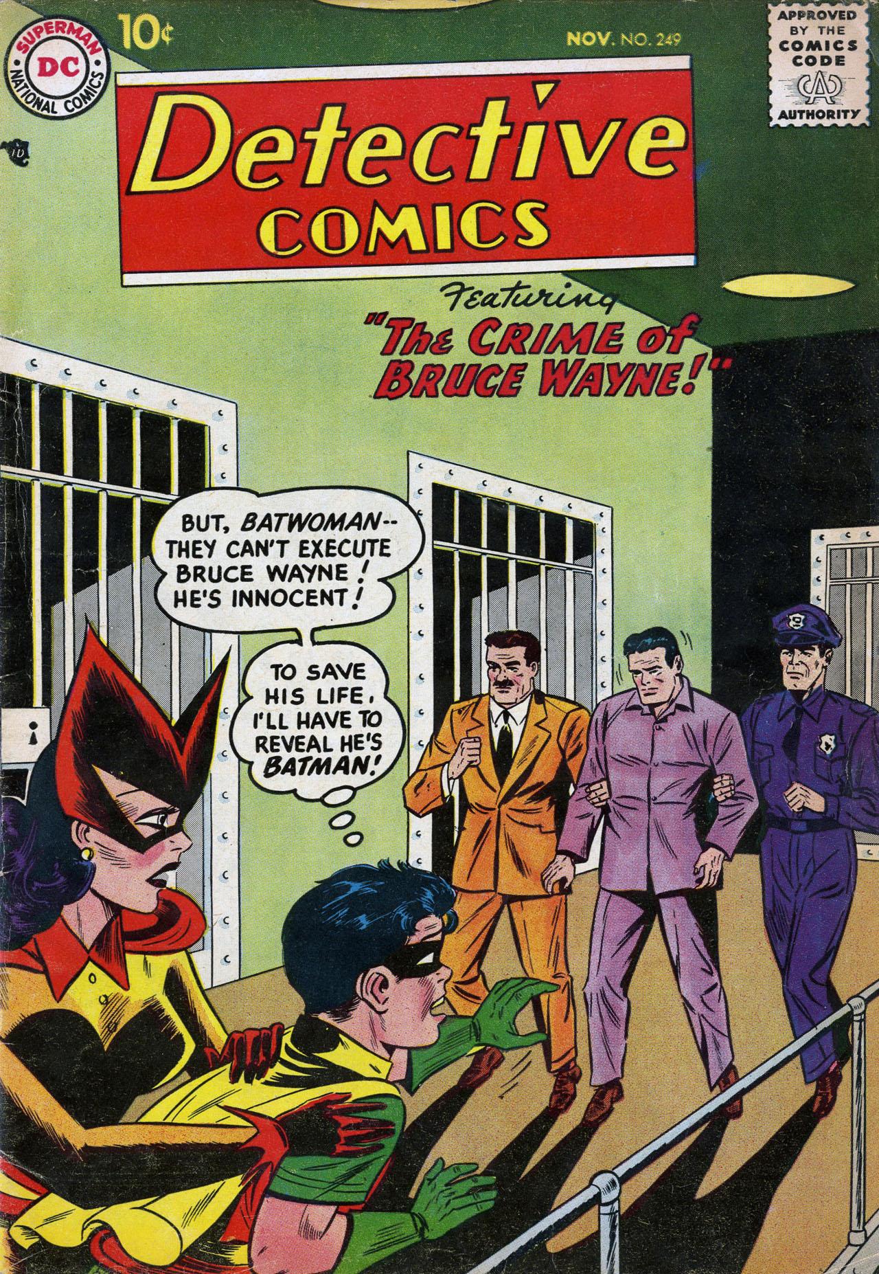 Read online Detective Comics (1937) comic -  Issue #249 - 1