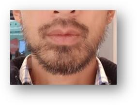 12 mm beard asian