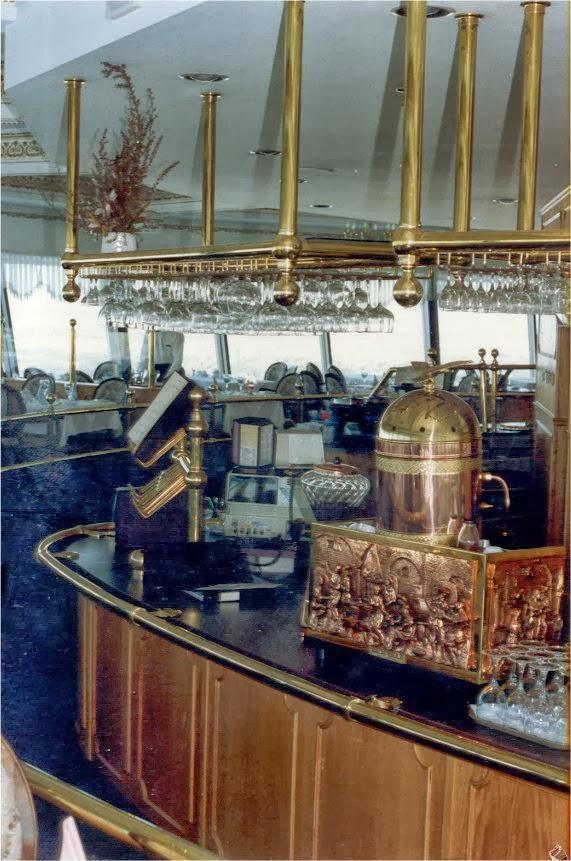 Fort Garry Revolving Restaurant Menu