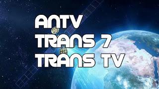 Update Trans 7 Trans TV ANTV Hilang di Telkom 3S, Resmi di Telkom 4