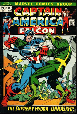 Captain America #147, Supreme Hydra unmasked