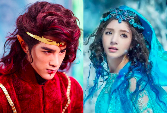 ice fantasy couple jiang chao madina memet