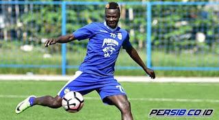 Jelang Madura United vs Persib, Ezechiel Cedera Saat Latihan