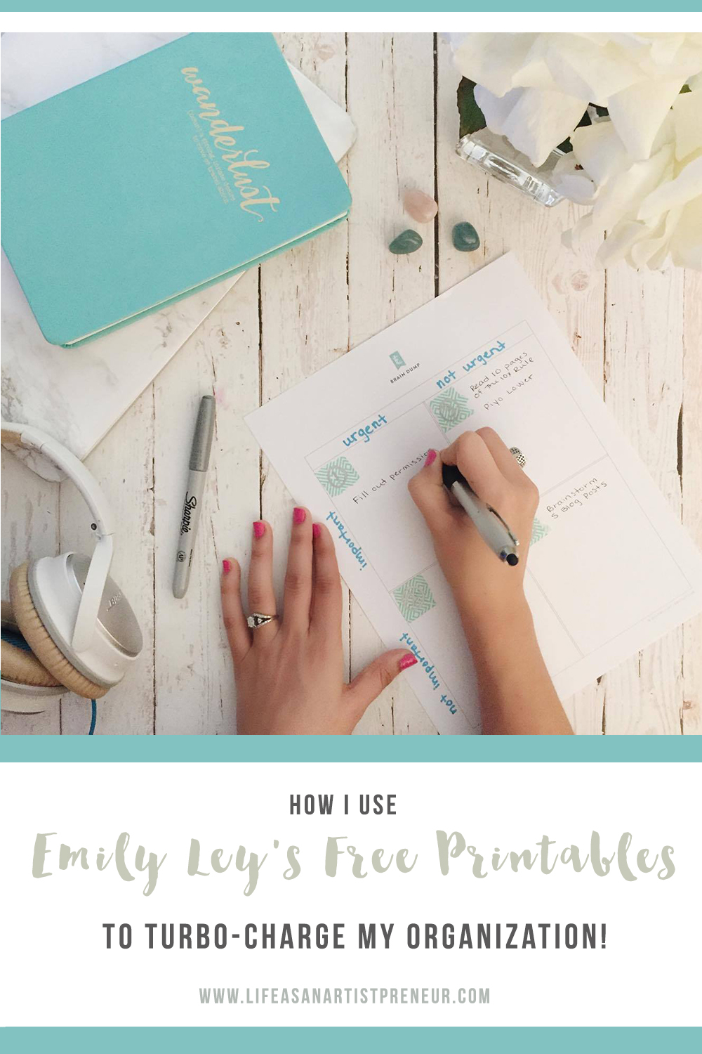 emily ley brain dump free printable for to do list