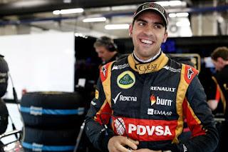 El piloto venezolano de formula uno Pastor Maldonado dara clases de manejo