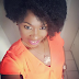 Uche Jombo shows off her natural hair