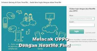 Menggunakan Akun O-Cloud OPPO