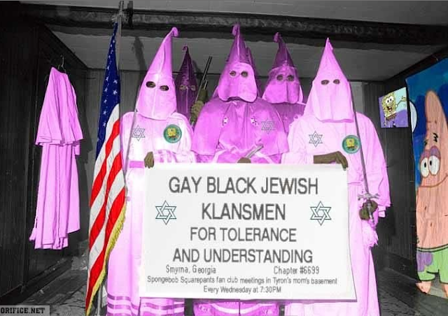 Funny Gay Black Jewish Klansmen for tolerance and understanding