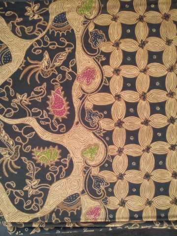 Batik Mutiara Sragen Hem Kawung