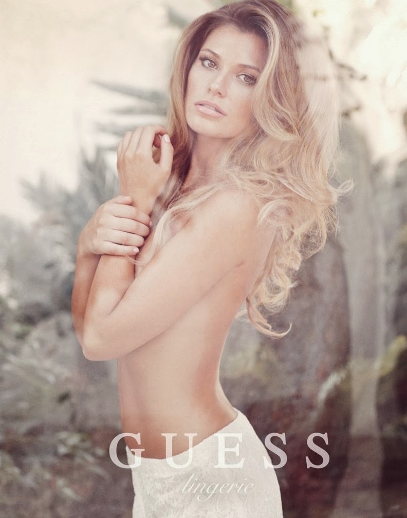 89fb26ed1e50a Samantha Hoopes is seductive for the Guess Lingerie Spring/Summer ...