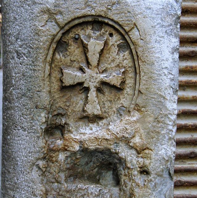 Strahlenkreuz, Calle del Perdon, San Polo 1312