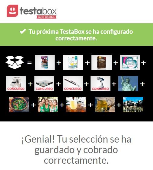 TestaBox febrero 2017: mi selección confirmada