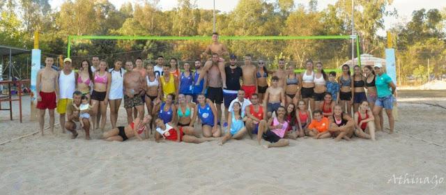 Πρέβεζα: Mε επιτυχία ολοκληρώθηκε το 4ο μεικτό τουρνουά beach volley