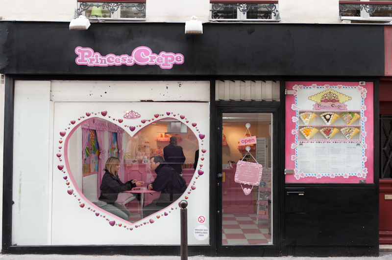 Princess Crepe 3 Rue des Ecouffes Paris