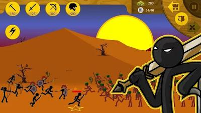 Download Stick War Legacy Mod Apk v1.3.11 (Unlimited Gold)