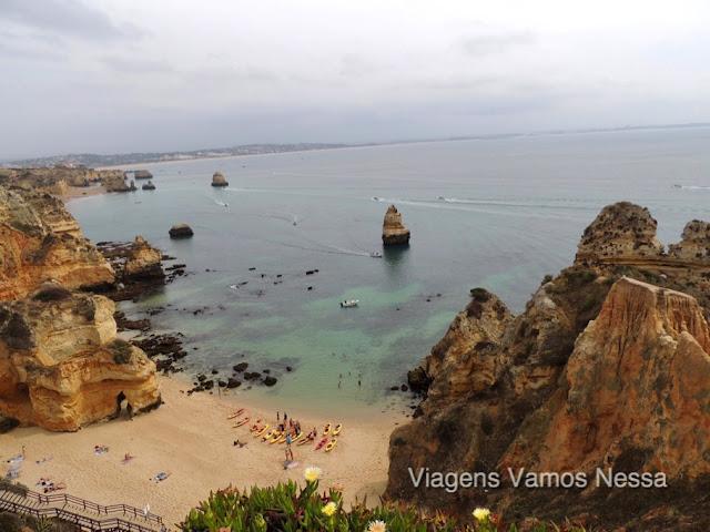 Praia do Camilo em Lagos, uma das mais belas praias de Portugal