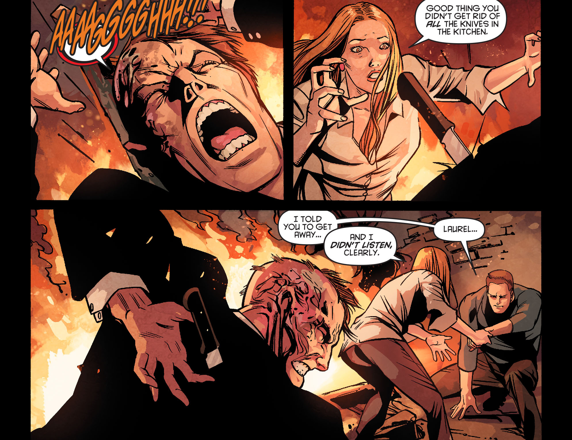 Read online Arrow: Season 2.5 [I] comic -  Issue #22 - 16