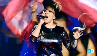 Suzanna canta Hey Mama de David Guetta la voz directos
