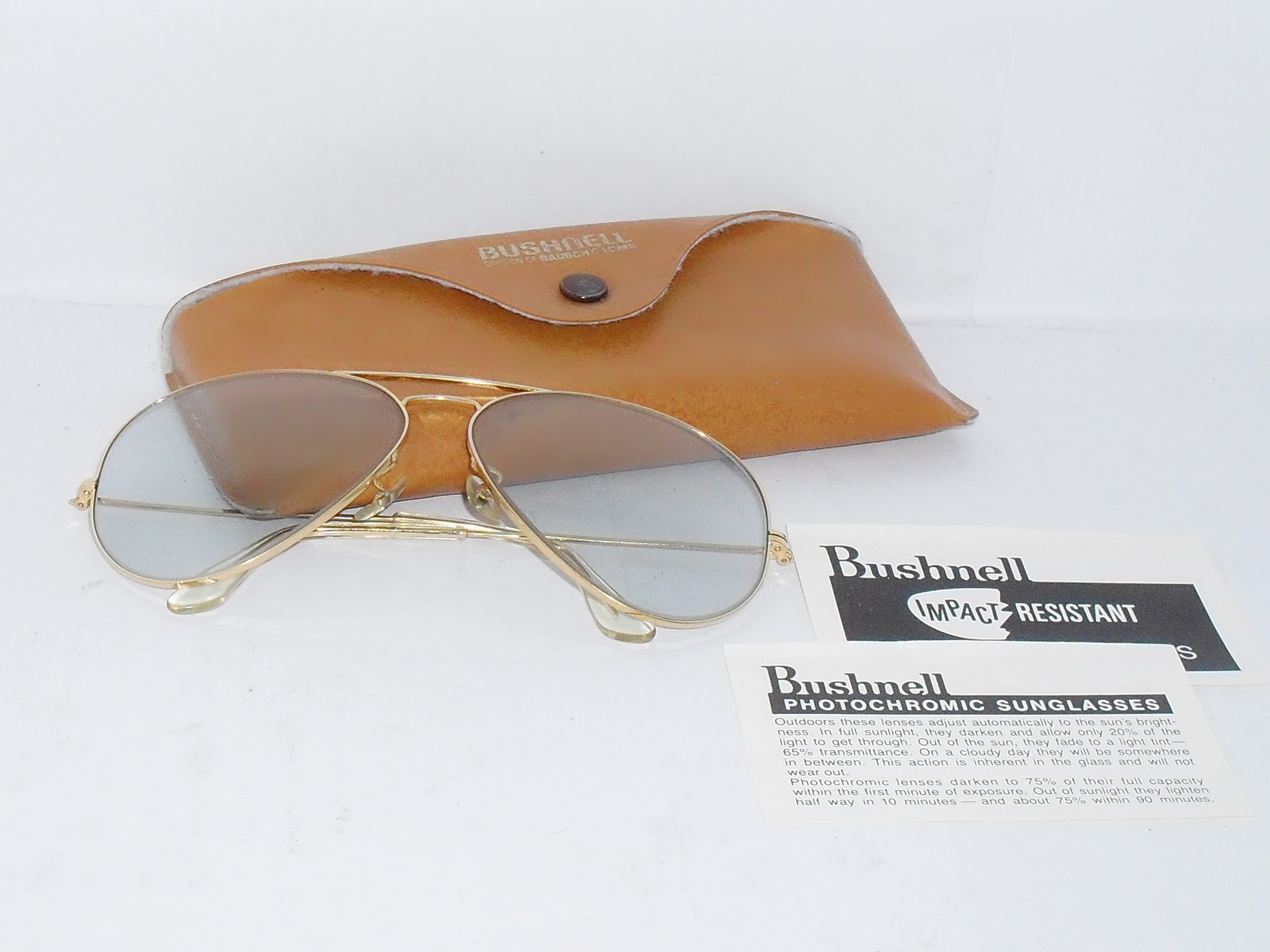 911983d7e15 `SOLD` vintage bushnell b l bausch lombs usa aviator photochromic lens (sold)  ~. rare n hard to find
