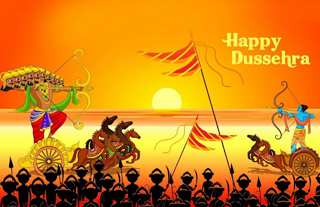 ravan,happy dussera,ram ravan fight,