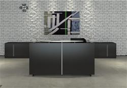 Fashionable Guest Reception Desk