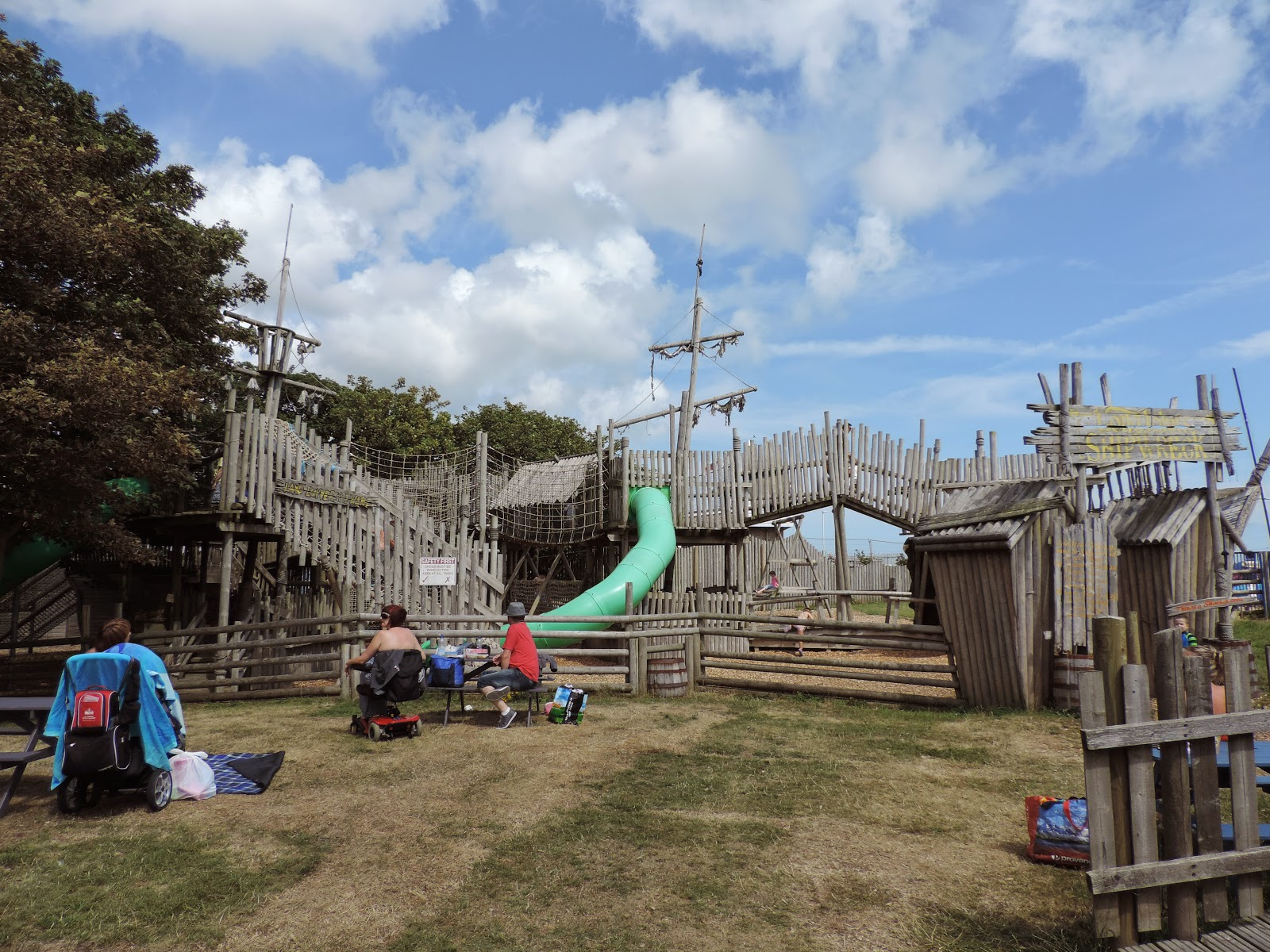 royal parade eastbourse sussex outdoor wooden pirate ship play area