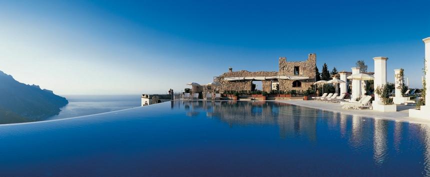 10. Hotel Caruso, Italy