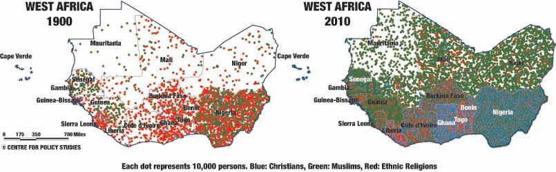 Centre For Policy Studies Religion Data Of Census 2011 Xxxvii Africa