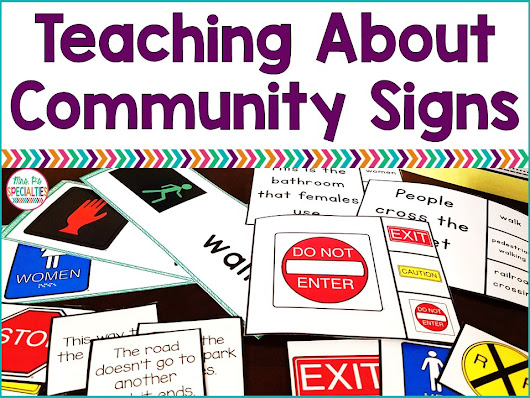 Teaching About Community Signs