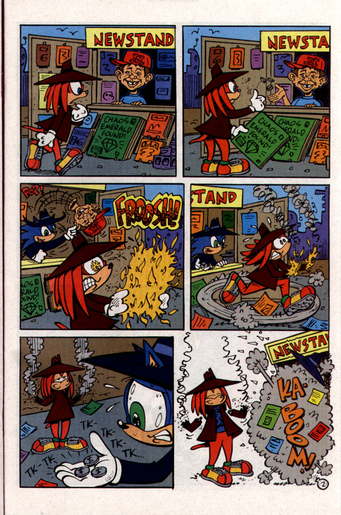 Read online Sonic The Hedgehog comic -  Issue #127 - 20