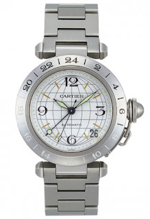 Cartier Pasha C GMT Automatic Unisex Watch W31078M7 Replica