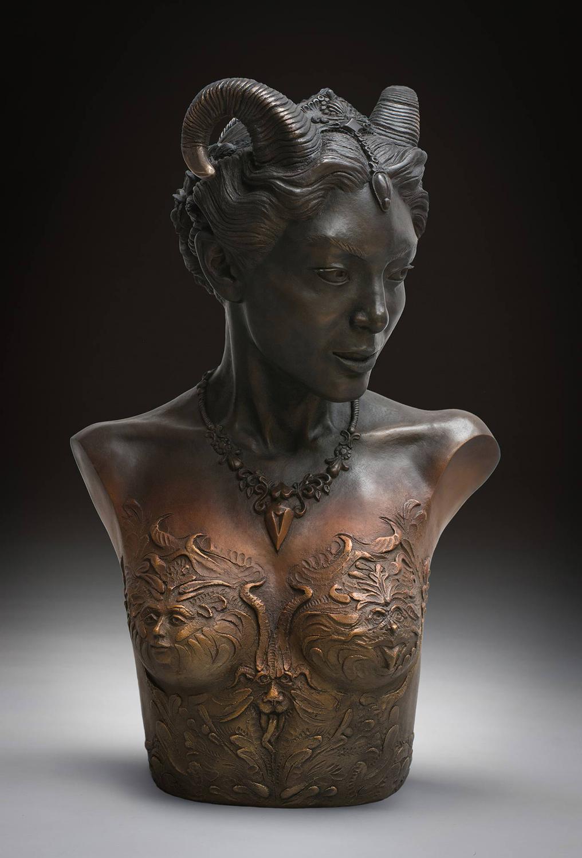 f423897ba SILVER AWARD: 'Ktisis, Muse of Creativity' by Olivier Villoingt